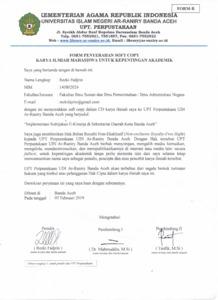 Implementasi Kebijakan E Kinerja Di Sekretariat Daerah Kota Banda Aceh Repository Of Uin Ar Raniry